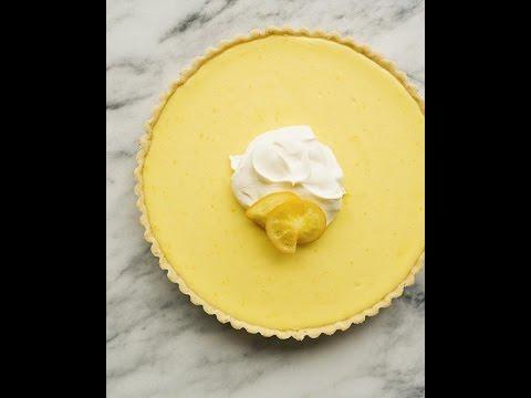 White Chocolate Lemon Tart by @amandafrederickson