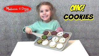 Gebäck-Set  - Hannah backt Kekse und bekommt überraschend hungrigen Besuch | Melissa & Doug