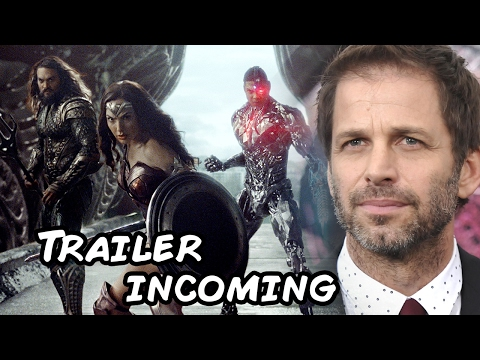 Justice League Trailer coming says Zack Snyder