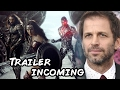 Justice League Trailer Coming Says Zack Snyder video
