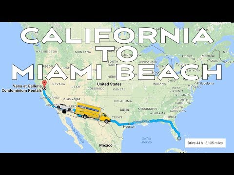 Healthy road trip | Moving to Miami Beach | Clogging my arteries at Dennys