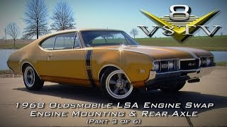 1968 Oldsmobile Cutlass Supercharged 6.2 LSA Engine Install Swap Video Part 3 V8TV