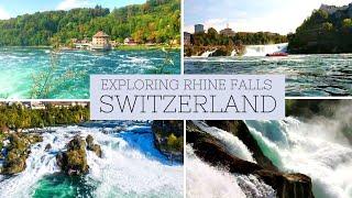 RHINE FALLS   RHINE FALLS SWITZERLAND