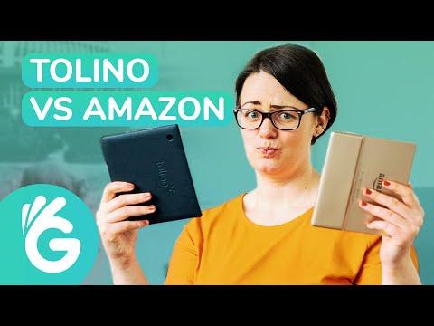 Tolino Vision 5 Vs Amazon Kindle Oasis 3 – EBook Reader Test