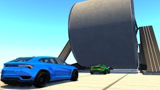 Sequential Car Flattener - BeamNG.drive (crushing cars&heavy vehicles)