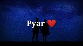 Pyar ❤ Very sad heart touching shayari ❤ Sad hindi shayari