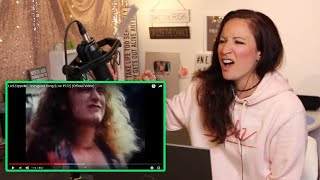 Vocal Coach REACTS to LED ZEPPELIN- IMMIGRANT SONG- live 1972