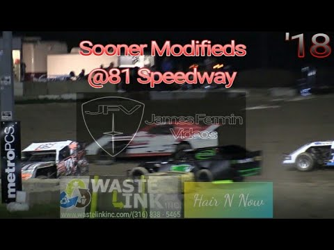 Sooner Limited Modifieds #1, Full Race, 81 Speedway, 09/15/18