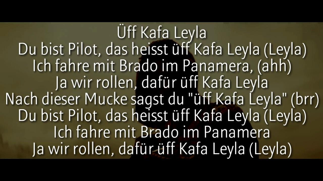 Brado Mero Kafa Leyla Official Hq Lyrics Text Youtube