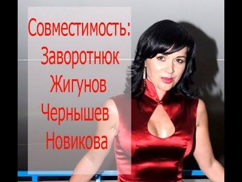 Астрологическая совместимость: Заворотнюк, Жигунов, Чернышев, Новикова. Астролог Елена Бэкингерм