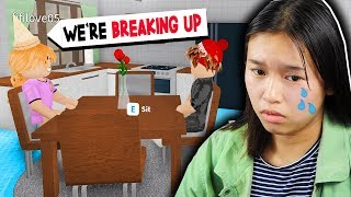 We Broke Up.. (Roblox Bloxburg Roleplay)