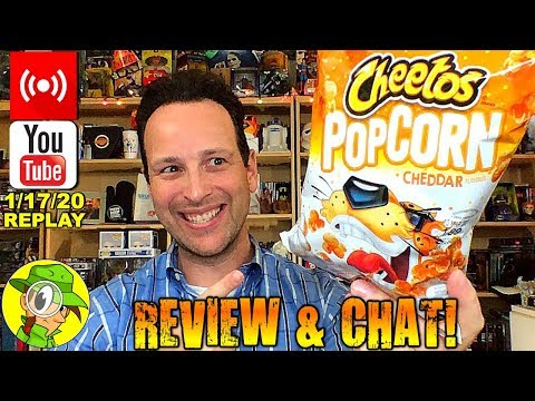 Cheetos® | Cheddar Popcorn Review 🐆🍿 | Livestream Replay | 1.17.20 | Peep THIS Out!