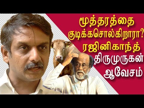 thirumurugan gandhi blast rajinikanth political entry tamil news tamil live  redpix