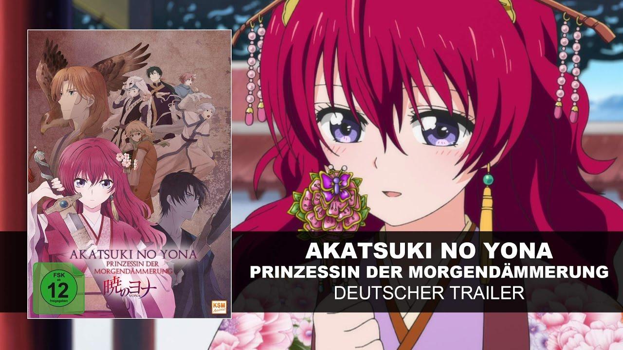 Akatsuki no Yona - Prinzessin der Morgendämmerung (Deutscher Trailer) | HD  | KSM Anime