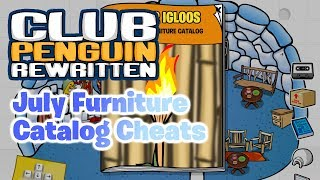 Club Penguin Rewritten: July 2017 Furniture Catalog Cheats