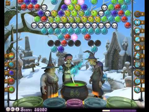 Bubble Witch Saga Level 310