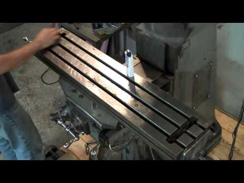 milling machine table repair