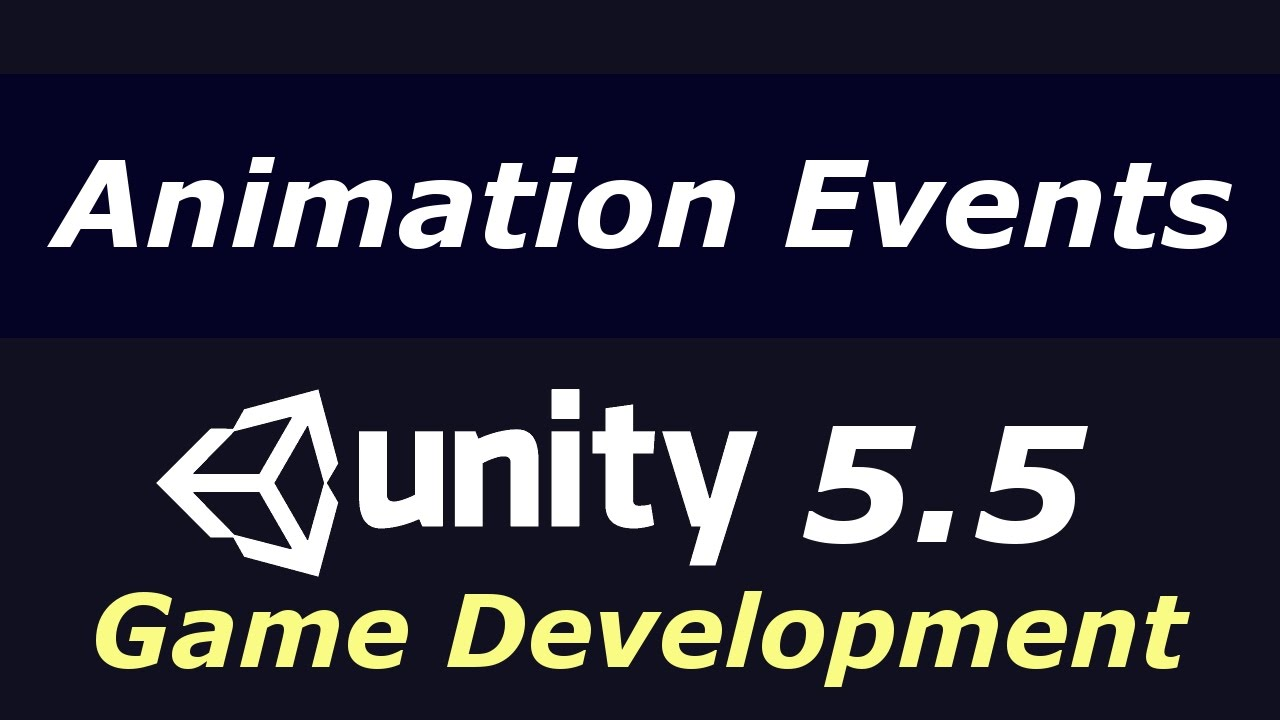 How to Create Animation Events | Unity 5 5 Game Development Tutorial