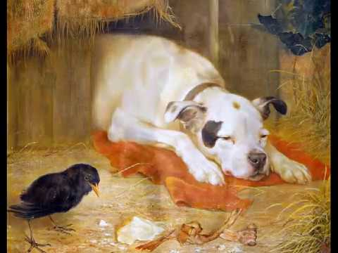 Dogs paintings by famous artists to you my love blues for Painting of your dog