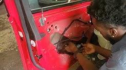 Chevy cruze front windows regulator replacement
