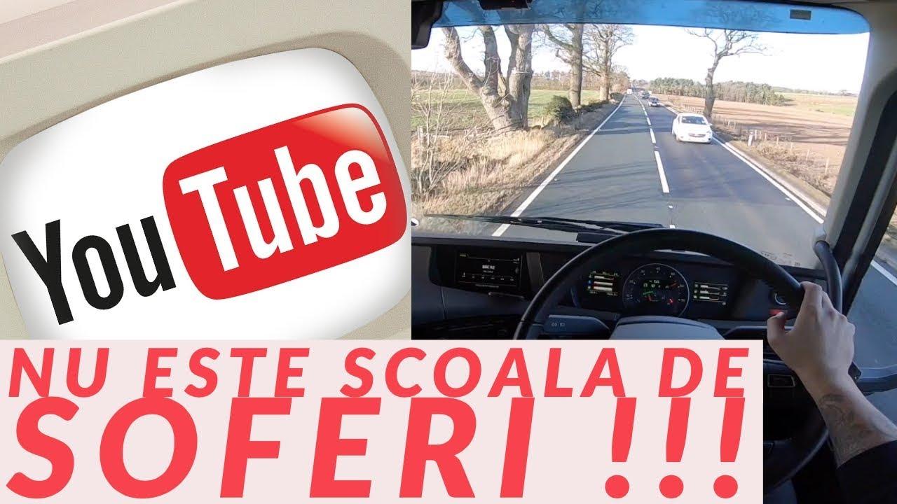#truckereala258 - YOUTUBE NU ESTE SCOALA DE SOFERI !!!