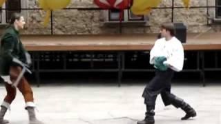 Walka na miecze półtoraręczne