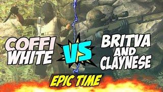 Britva and Claynese VS Coffi в CS:GO