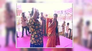 Bithiri sathi Singing Song in PM MODI Programme