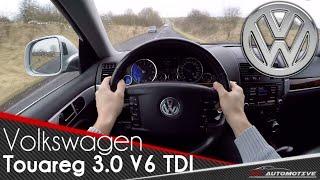 Volkswagen Touareg 3.0 V6 TDI (2008) POV Test Drive + Acceleration 0 - 200 km/h
