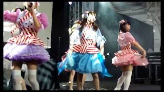 The following is the first live performance featuring Japanese idol...