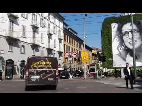 Roaming Milan downtown