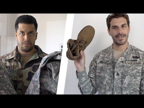 ARMY EXPLAINS ACU UNIFORM!