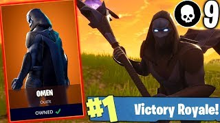 I BOUGHT NEW SKIN OMEN AT FORTNITE AND SHOWED WHO'S BOSS:D