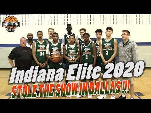 Indiana Elite  2020 TURNED SOME HEADS AT DALLAS ADIDAS GAUNTLET
