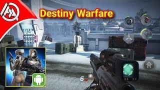 تجربة لعبة Destiny Warfare الجديده على أجهزة Android اونلاين 2018 رهيبة😍 تحميل✔