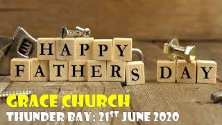 June 21st, 2020 Pastor Martin Lord (Grace Church)