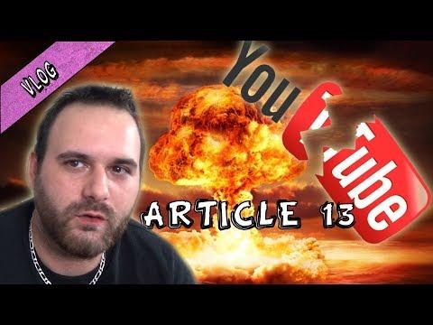 L'ARTICLE 13 QUI VA TUER YOUTUBE / MON AVIS DE PETIT YOUTUBEUR