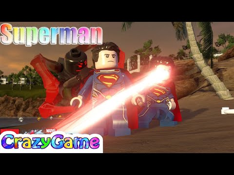 LEGO #Superman & The Flash Free Roam - #LEGO MARVEL