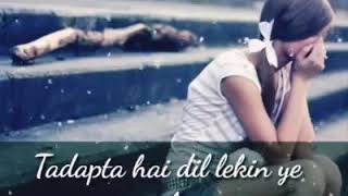 Full Original Song 💙💜💚💘 Mere Halat Aise hai 💘💚💜💙Romantic Status with layrise