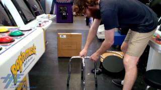 How To Assemble He's Arcade Swivel Stool