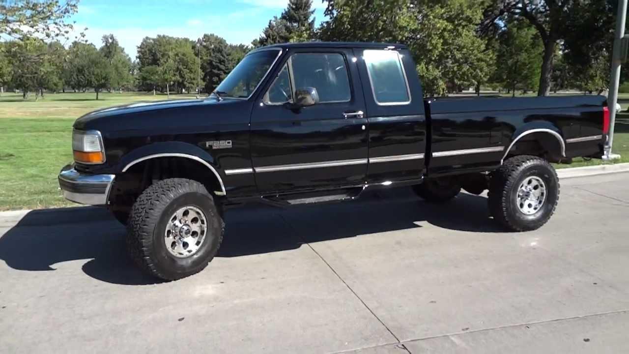 1995 F 250 4x4 Gasoline