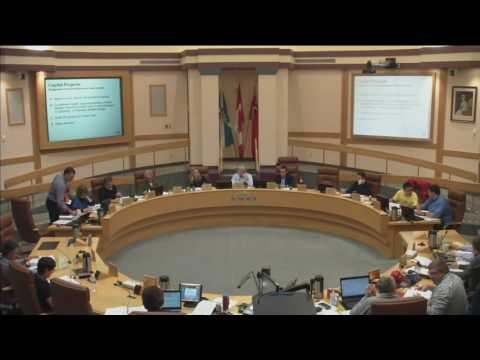 2017 Capital Budget General Committee Session from October 15, 2016 - Part 4