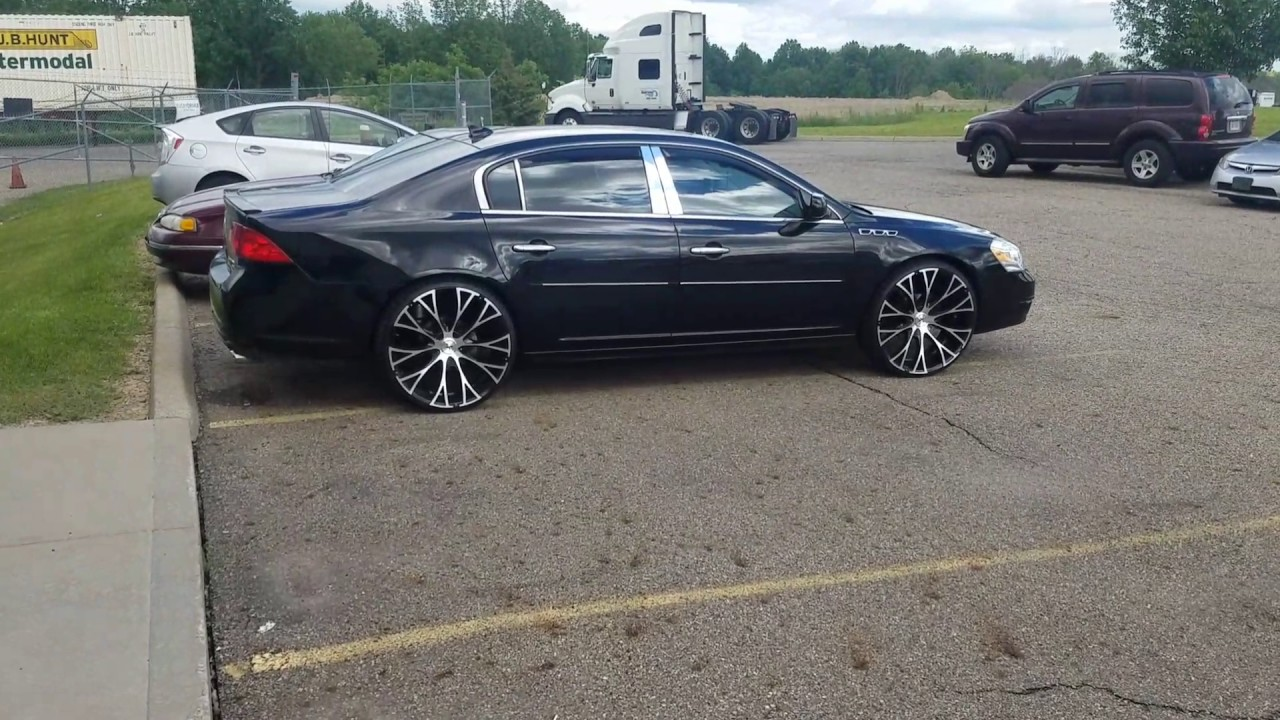 Buick Lucerne On 24s Youtube