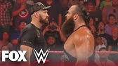 Tyson Fury and Braun Strowman go at it in the ring | MONDAY NIGHT RAW