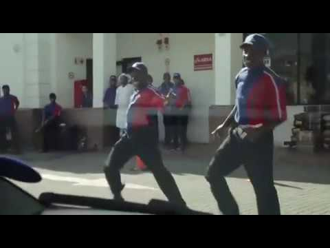 Epic!!! Burnout - Flash mob South Africa