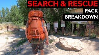 Search & Rescue Pack Breakdown!