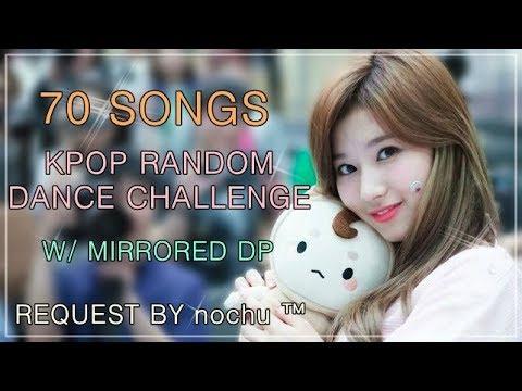 70 SONGS | KPOP RANDOM DANCE CHALLENGE *Request* | w/mirrored DP
