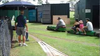 Miniature Railway - Steam & Electric Trains, Brisbane Australia
