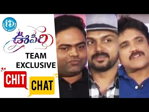 Oopiri Team Exclusive Chit-Chat - Nagarjuna || Karthi || Tamannaah || PVP || Vamshi