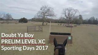 First Prelim! Sporting Days Aiken Feb. 5 2017